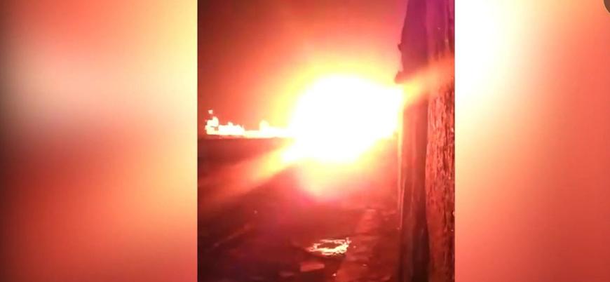Hurras ed Din, Suriye'deki Rus üssüne saldırının görüntülerini yayınladı