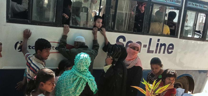 Bangladeş 3 bin Arakanlı Müslümanı daha 'Ölüm Adası'na gönderiyor
