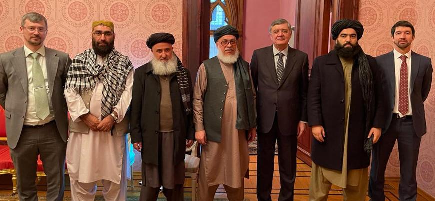 Taliban Moskova'da