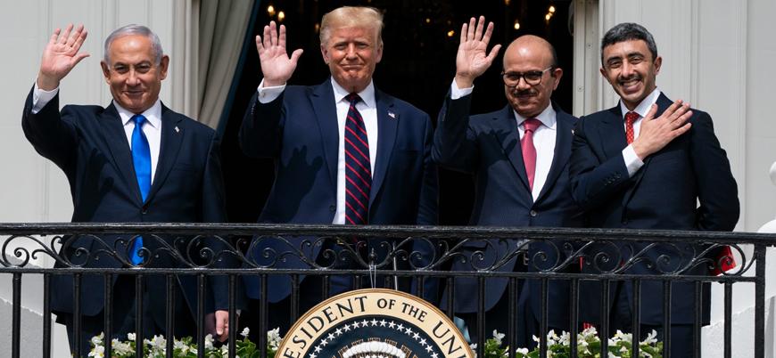 İsrail, ABD'nin normalleşme anlaşmalarından çekilmesinden endişe ediyor