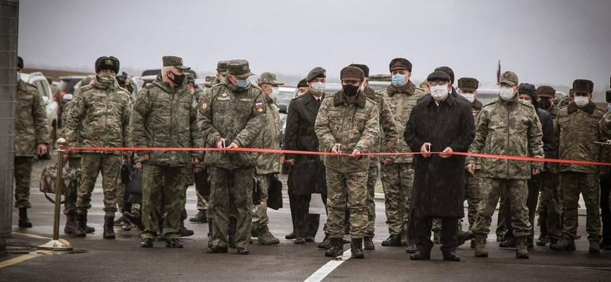 Dağlık Karabağ'da 'Rus-Türk Ortak Gözlem Merkezi' faaliyete başladı