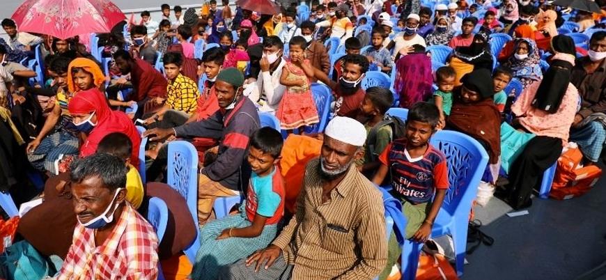 Bangladeş 1400 Arakanlı Müslümanı daha 'Ölüm Adası'na gönderdi
