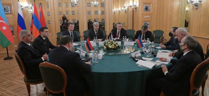 Azerbaycan, Ermenistan ve Rusya Moskova'da Karabağ'ı görüştü