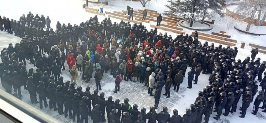 Rusya'da 'Navalny' protestoları: Yüzlerce gözaltı