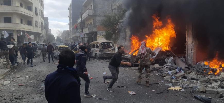 Azez'de bombalı araç saldırısı