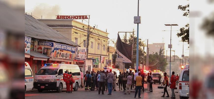 Somali'de Eş Şebab, üst düzey politikacıların olduğu oteli bastı