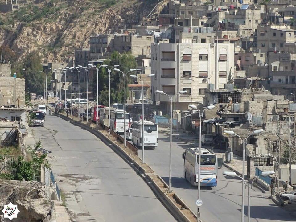 İç çatışmanın bedeli: Muhalifler Şam'daki mahallelerden tahliye ediliyor