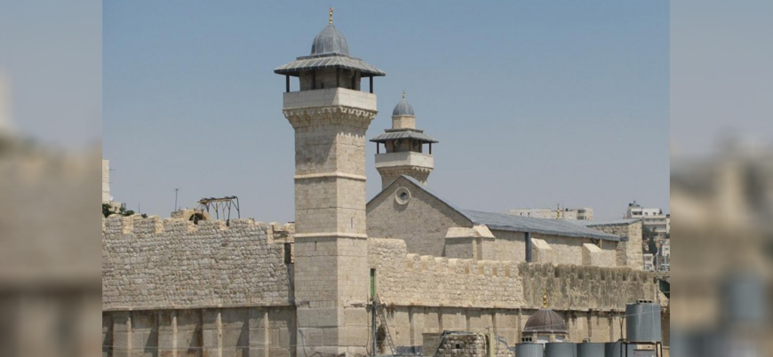 İsrail, Harem-i İbrahim Camisi'nde ezan yasağını sürdürüyor