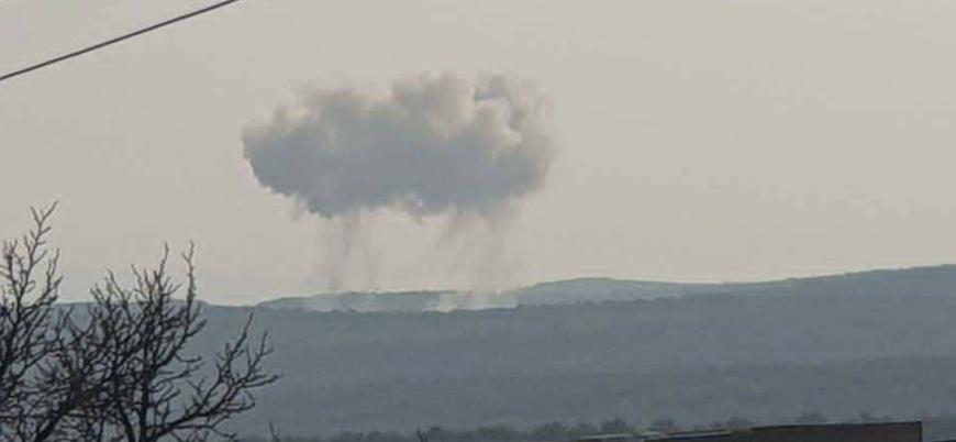 Rus savaş uçakları İdlib'de saldırılar düzenledi