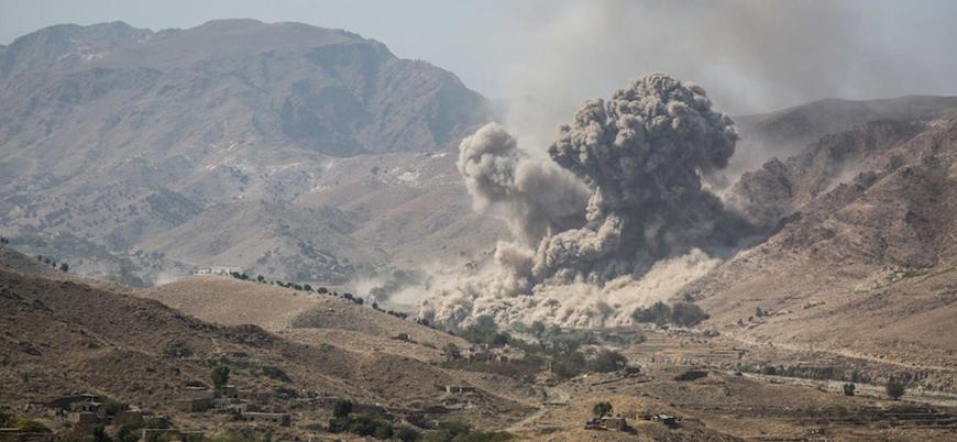 Çekilme sürecine rağmen Afganistan'da ABD hava saldırıları artıyor