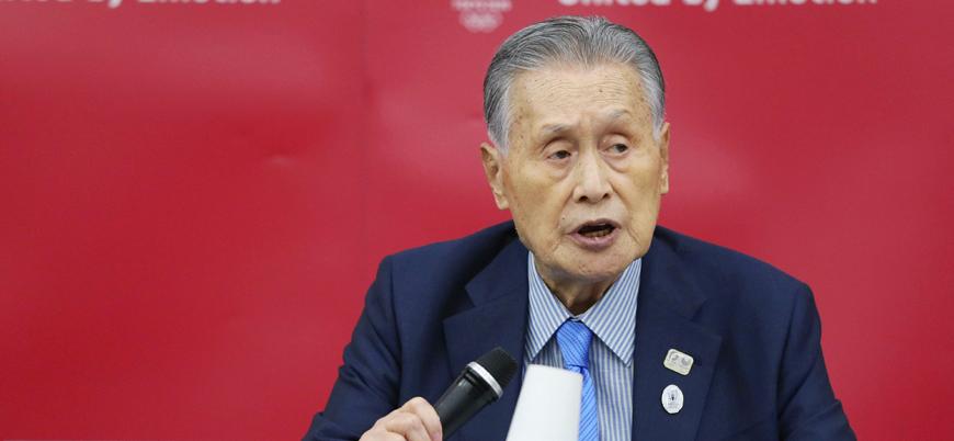 'Kadınlar çok konuşuyor' diyen Japonya Olimpiyat Komitesi Başkanı Mori özür diledi