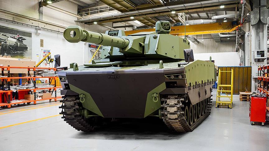 IDEF'te yeni bir tank görücüye çıktı