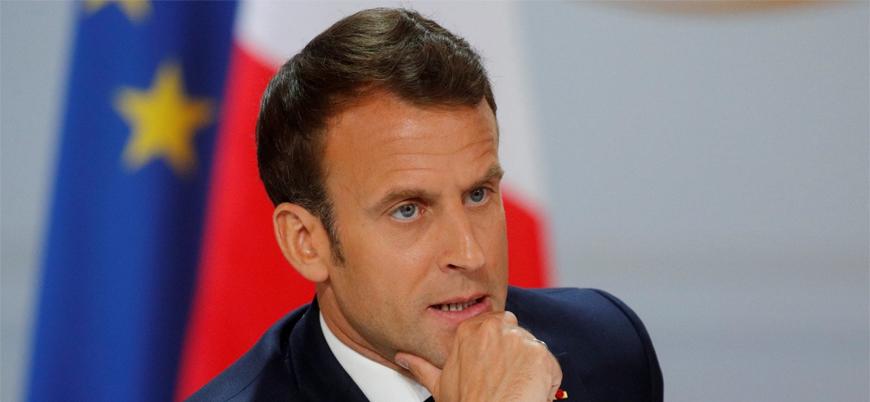 Macron: Erdoğan'ın Batı'ya yönelik tavrının yumuşamasından memnunun