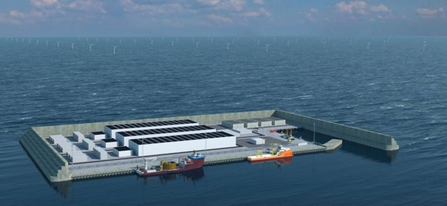 Danimarka dünyanın ilk enerji adasını inşa ediyor
