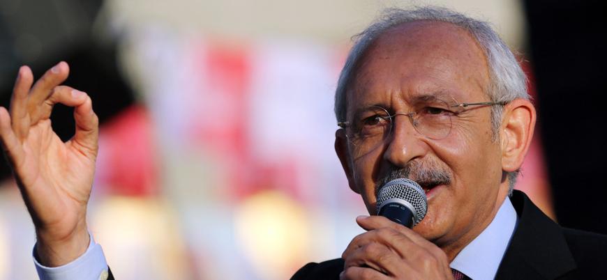 CHP lideri Kılıçdaroğlu'ndan adaylık açıklaması