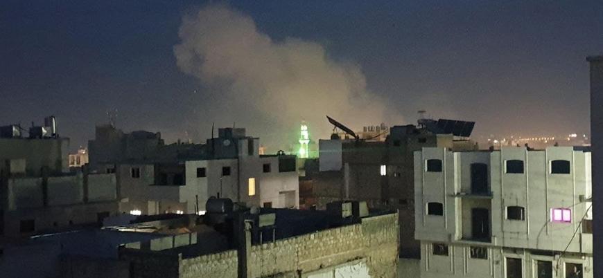 Fırat Kalkanı bölgesi El Bab'a füzeli saldırı