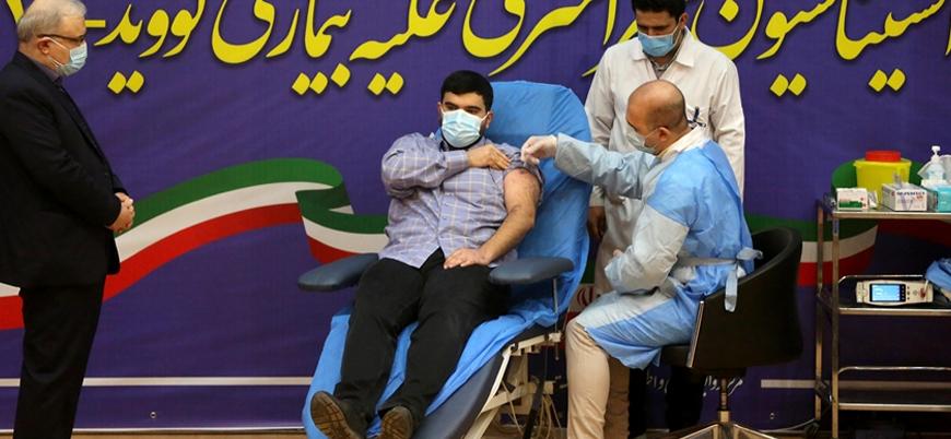 İran'da ilk aşı sağlık bakanının oğluna yapıldı