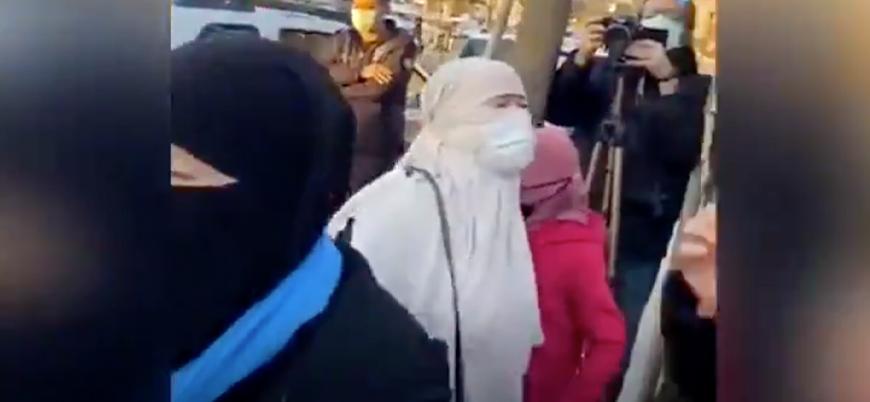 Türkiye'de eylem yapan Uygurlar: Türkistan'da tecavüze uğrayanlar sizin kardeşleriniz değil mi?