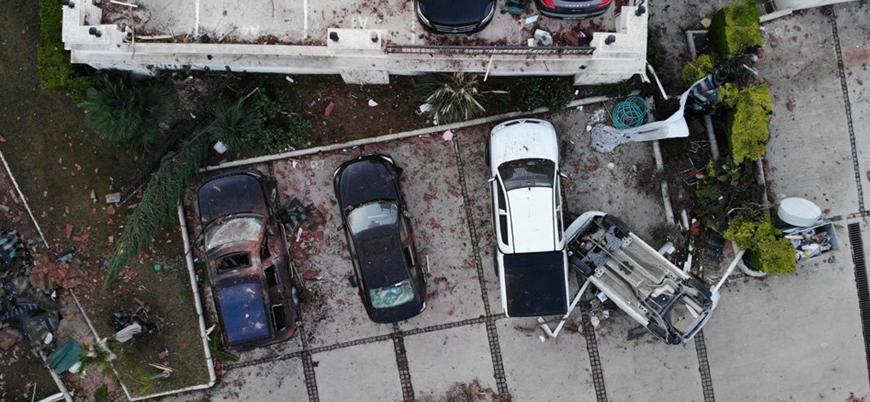 İzmir'deki fırtına ve hortumda 16 kişi yaralandı
