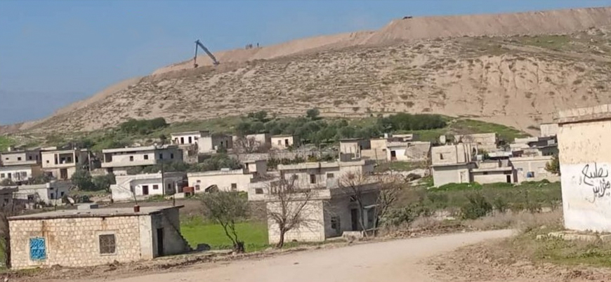 TSK Suriye'de yeni üs inşasına başladı