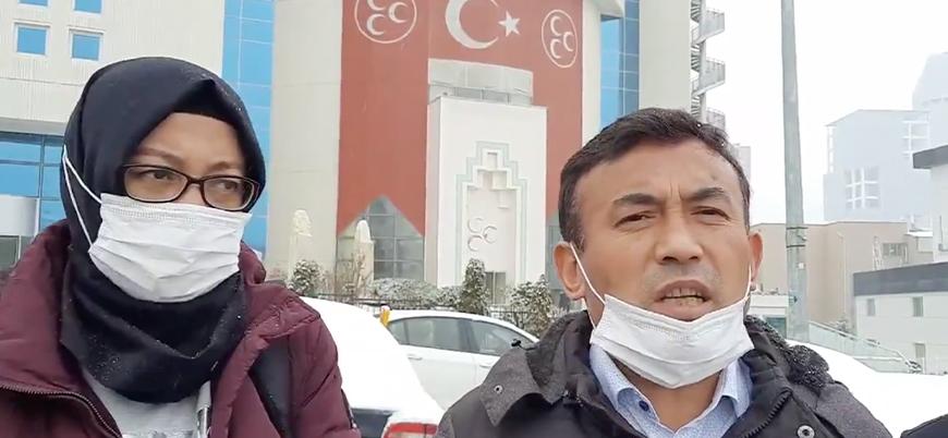 MHP'yi ziyaret eden Uygur Türkleri genel merkeze alınmadı