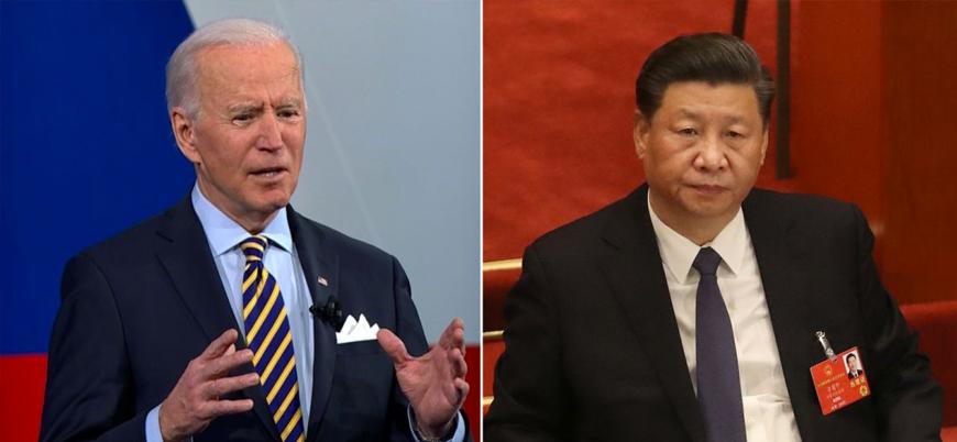 ABD Başkanı Joe Biden Çin'in Doğu Türkistan'daki soykırımını üstü örtülü savundu