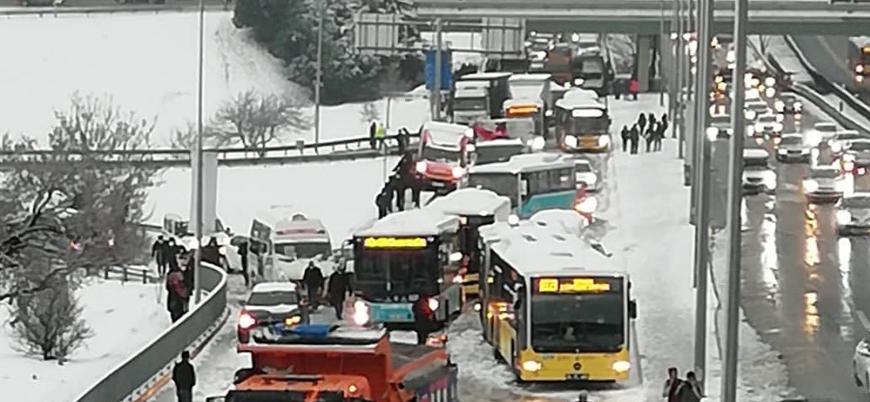 Kar yağışı Türkiye genelinde etkili oluyor