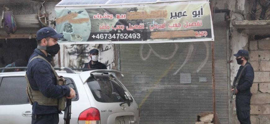 İdlib'de silah dükkanları kapatılıyor