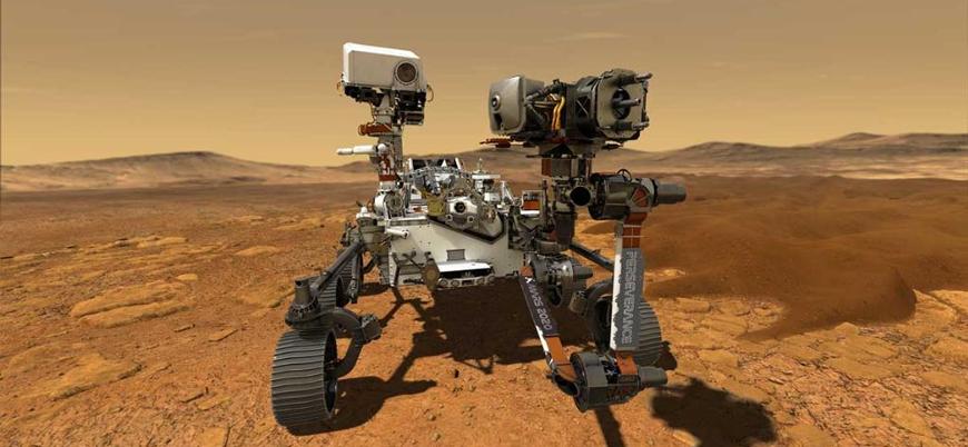 NASA Mars'ta oksijen üretimi yaptı