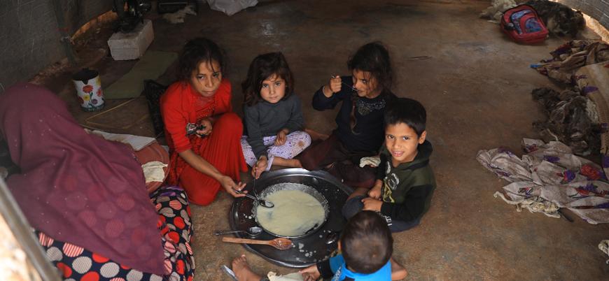 Suriye'de 12 milyon insan açlık çekiyor