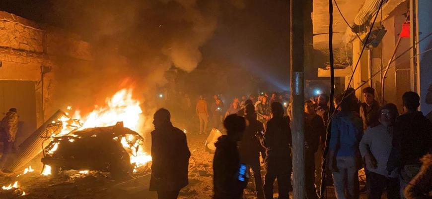 Fırat Kalkanı bölgesinde bombalı araç saldırısı