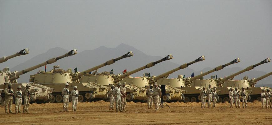 Suudi Arabistan ordusu dünyanın en büyük 5'inci zırhlı gücü