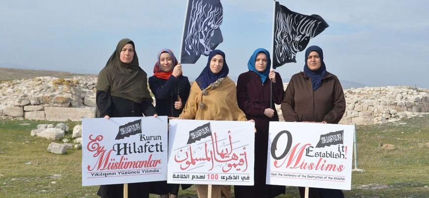 'Hilafet çağrısı yapan' 4 kadın gözaltına alındı