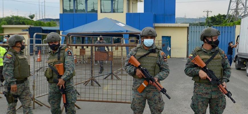 Ekvador'da cezaevlerinde isyan: En az 50 ölü