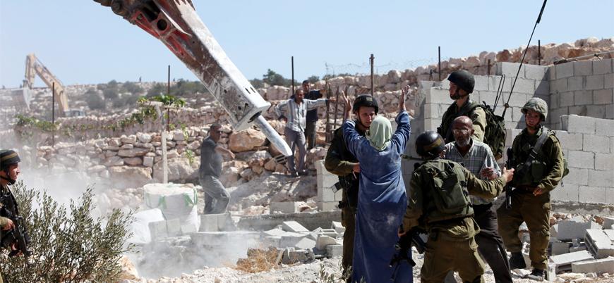 """""""İsrail Filistinlilerin evlerini yıkmayı durdurmalı"""""""