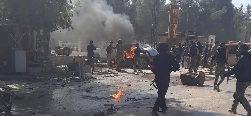 Türkiye sınırındaki Rasulayn'da bombalı saldırı