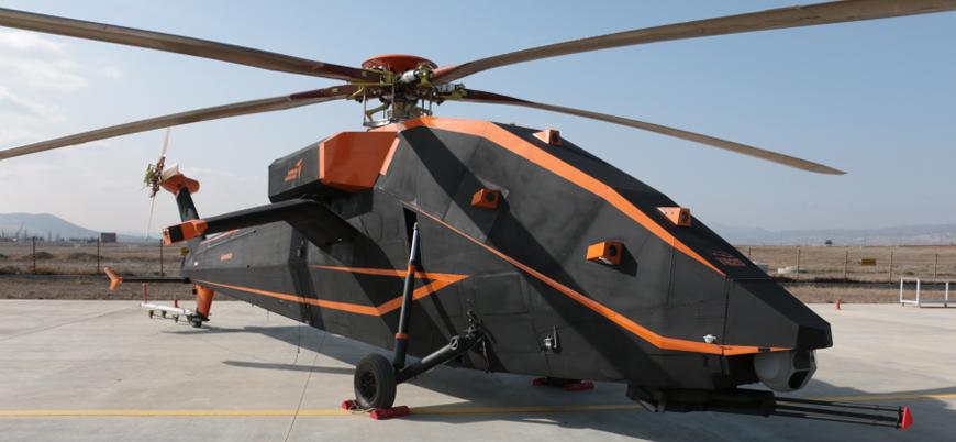 TUSAŞ'ın insansız taarruz helikopteri T629 ilk kez görüntülendi