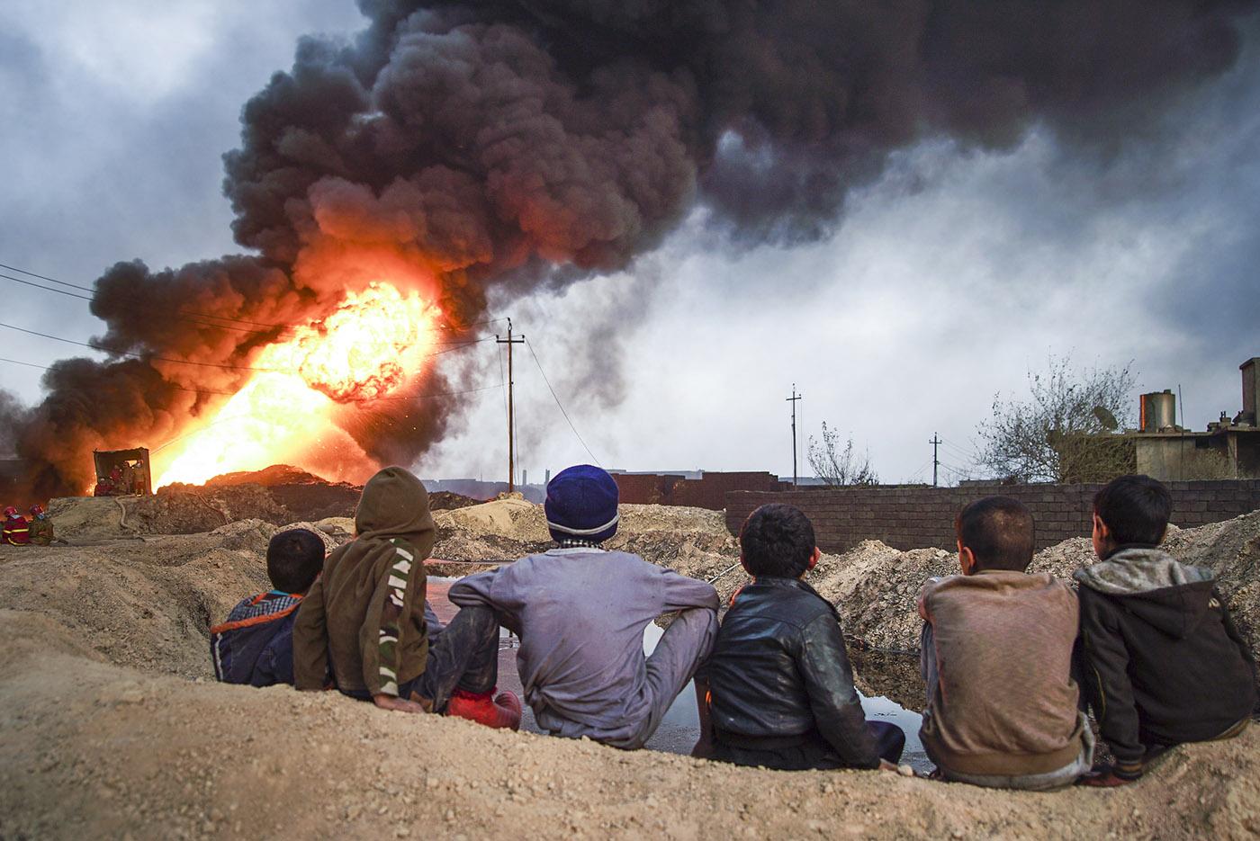 Musul'da sivil ölümleri korkunç boyutta