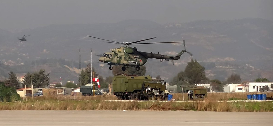 Suriye'nin doğusunda Rus helikopteri düştü