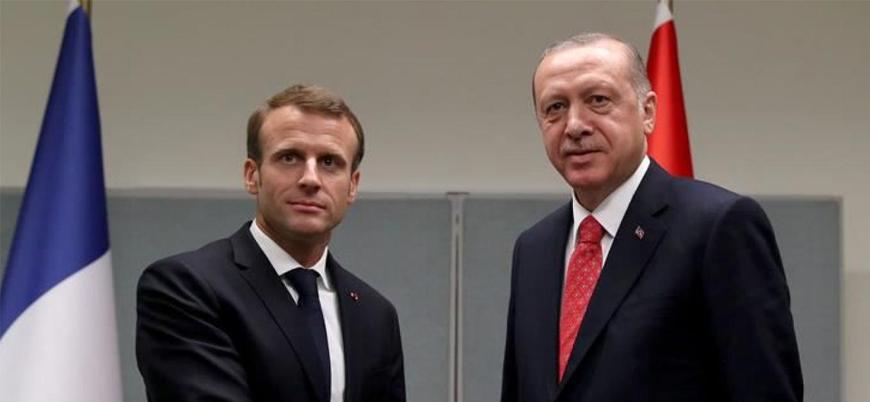Erdoğan ile Macron arasında 5 ay sonra ilk görüşme