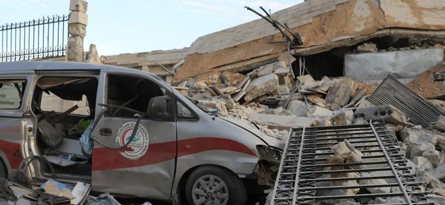 """""""Suriye'de sağlık merkezlerine yönelik saldırılar 'felaket' boyutunda"""""""