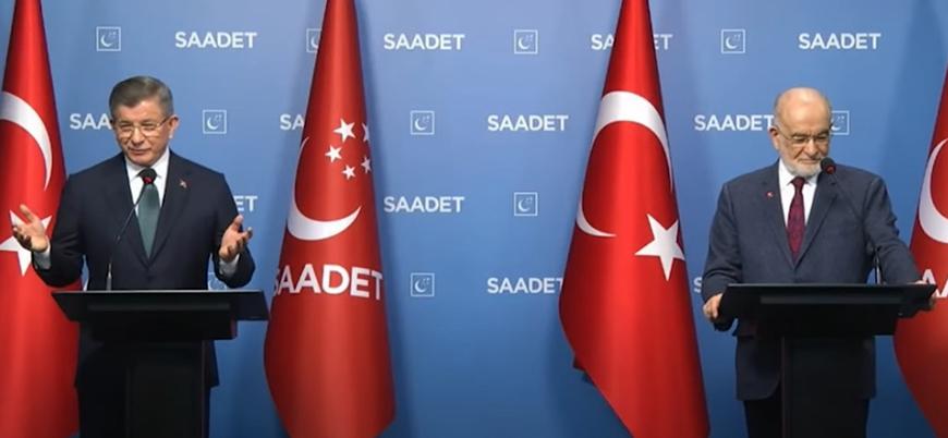 Davutoğlu: Fezlekeler siyaseti dizayn etme çabası
