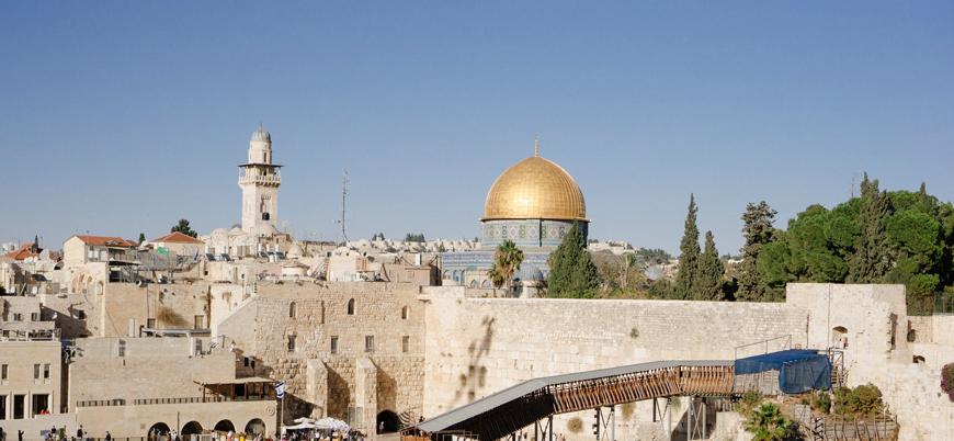 """""""İsrail sembol isimleri hedef alarak Kudüs'ü Yahudileştirmek istiyor"""""""