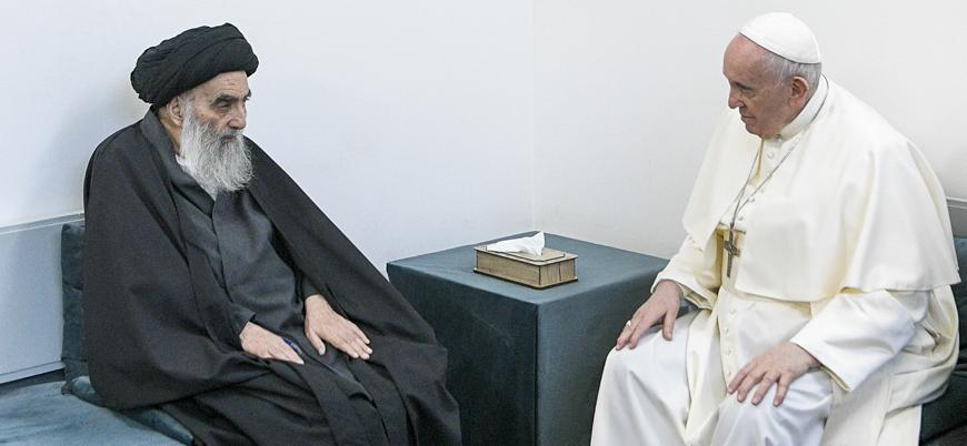 Papa Francis Ayetullah Sistani ile görüştü