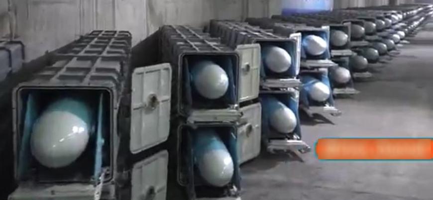 İran'dan yeni yeraltı füze tesisi açılışı