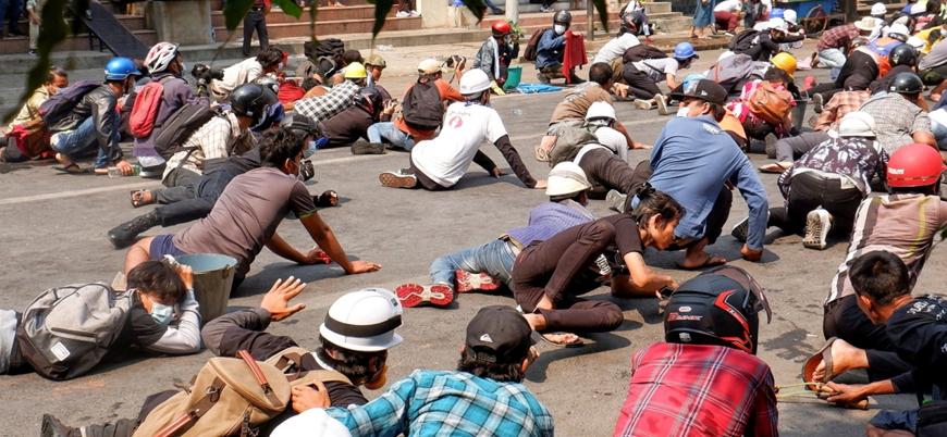 Myanmar ordusu darbe karşıtı gösterilerde 138 kişiyi öldürdü