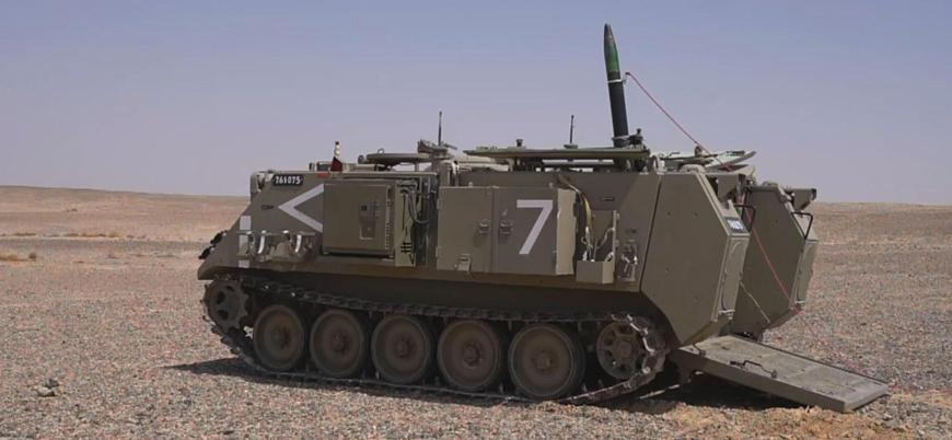 İsrail, lazer ve GPS güdümlü havan sistemini tanıttı
