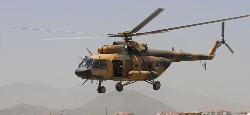 İran destekli Şii milisler Afganistan'da helikopter vurdu