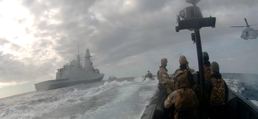 AB Libya'ya silah ambargosunu denetleyen Irini misyonunun süresini uzatacak