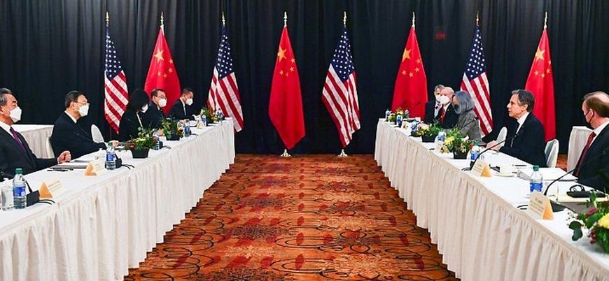 ABD ile Çin heyeti arasındaki görüşmelerde sert atışmalar yaşandı